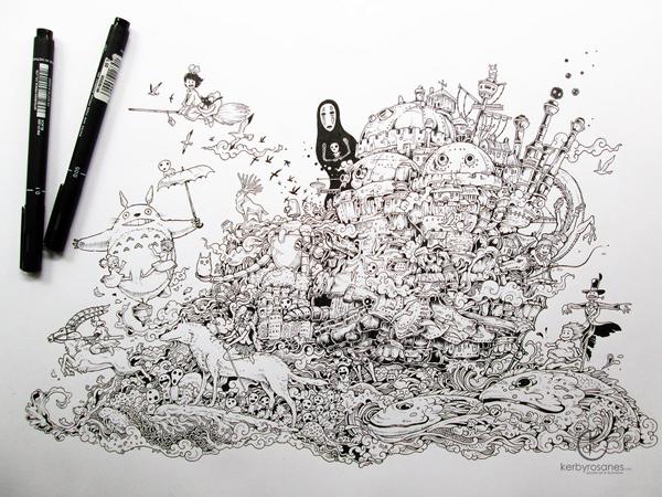 best-doodles-to-inspire-you-hayao-miyazaki
