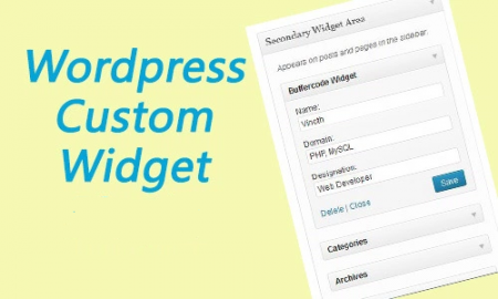 custom wordpress widget