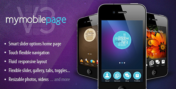 best-10-wordpress-mobile-themes-my-mobile-page-v3-theme