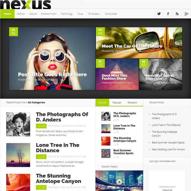 best-wordpress-blog-themes-2015-nexus
