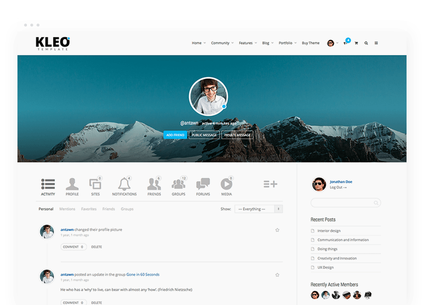 Corporate Social Network Bootstrap Template 20 7 Social Media