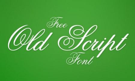 scripts fonts